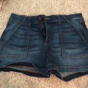 level 99 jean shorts